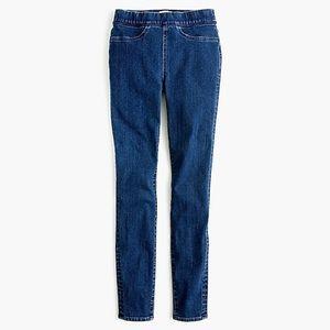 Jcrew pull on skinny toothpick jean plus size